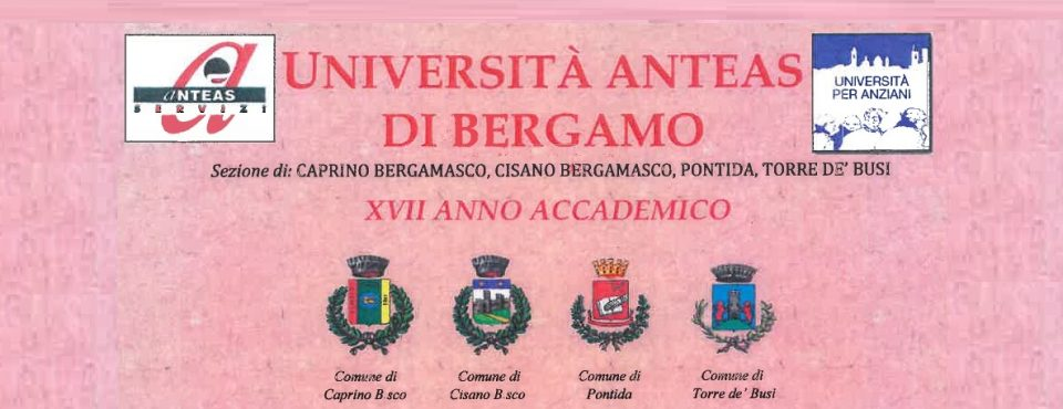 Università Anteas a Caprino Bergamasco