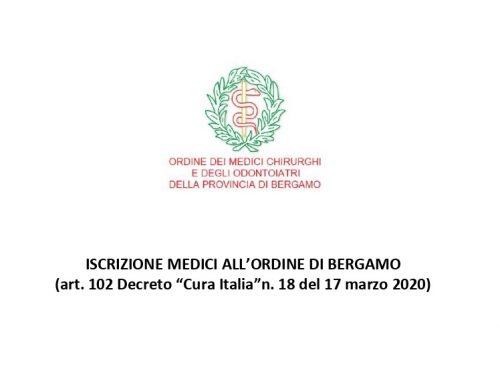 Laurea abilitante, iscrizione all'Ordine dei Medici